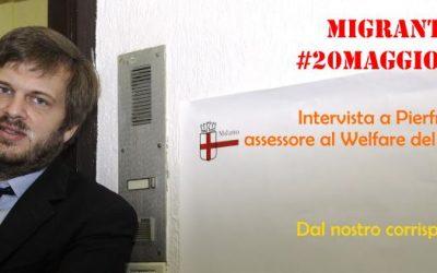 Migranti a Milano – #20maggiosenzamuri