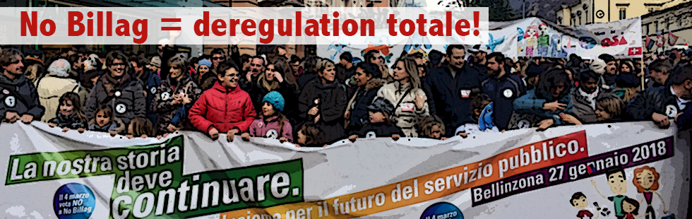 No Billag significa deregulation totale!