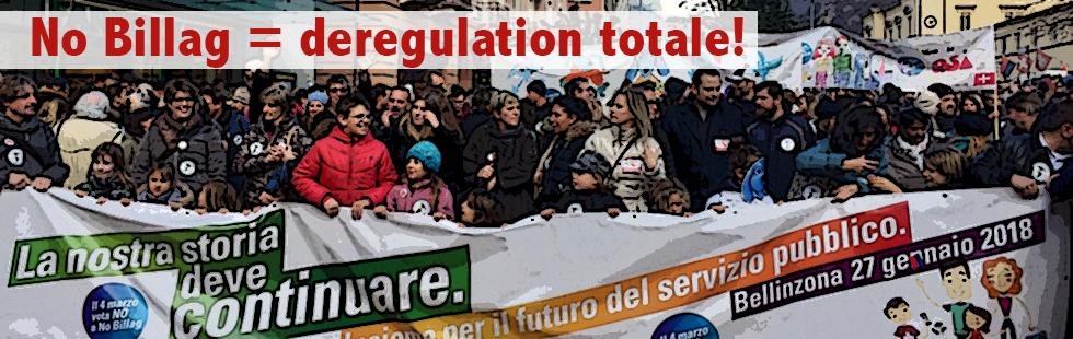 No Billag significa deregulation totale!