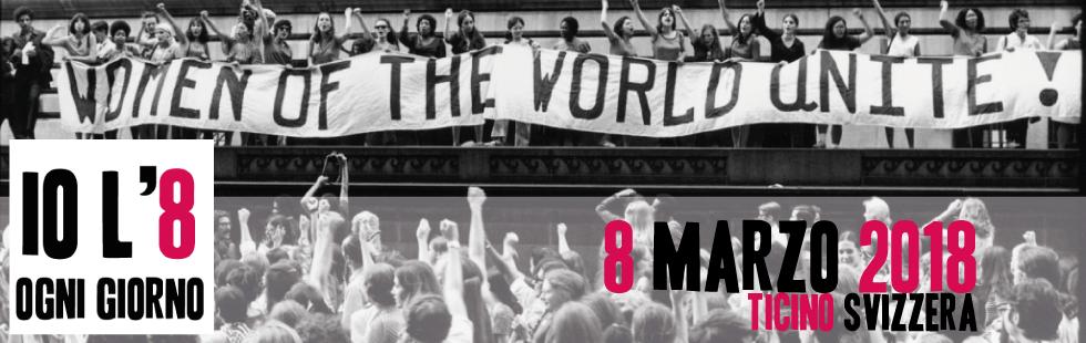 Io l'8 ogni giorno: manifestazione a Bellinzona